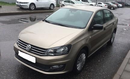 Volkswagen Polo по которому выдали деньги под залог птс